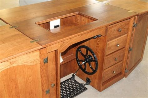 solid wood sewing machine cabinets heirloom solid wood sewing cabinet amish crafted