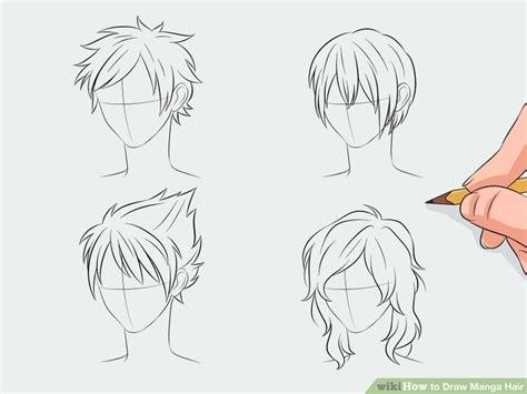 how to draw spiky anime hair draw manga hair manga hair anime hair and drawings