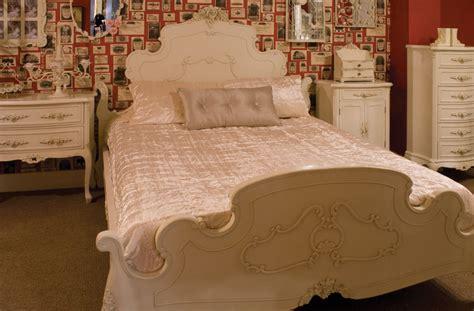 vintage bed frame furniture bedroom painted antique
