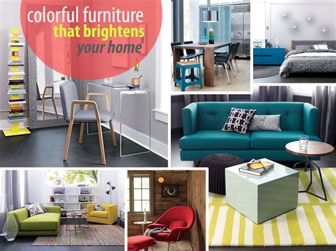 colorful furniture new colorful furniture finds to brighten your home