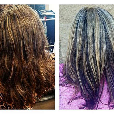 partial highlight pattern curly hair meer dan 1000 idee 235 n over gedeeltelijk blonde highlights