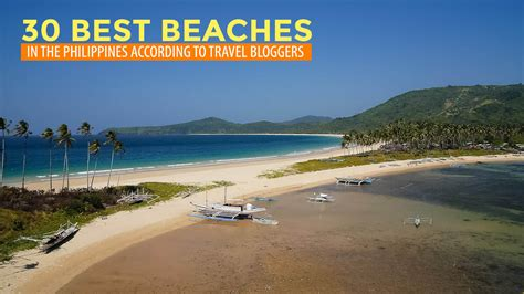 Find In The Philippines 30 Best Beaches In The Philippines According To Travel Part 1 Philippine