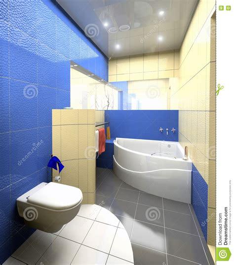 modern toilet interior stock illustration illustration of