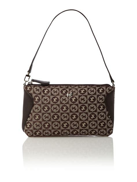 Jacquard Shoulder Bag by Radley Regent Jacquard Small Shoulder Bag In Brown Lyst