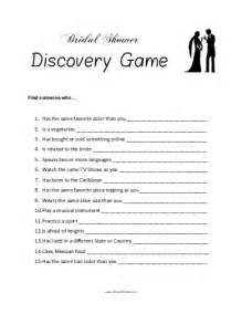 Free printable bridal shower games templates
