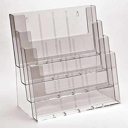 lade da banco portafoto e tasche in plexiglass