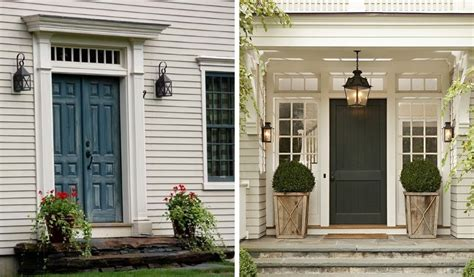 Colonial Front Door Designs | colonial entrance home design ideas