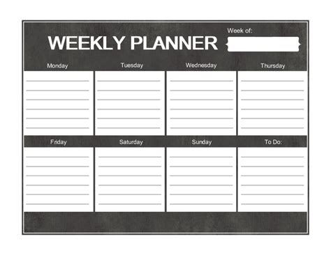 weekly menu planner template word 2018 weekly planner template fillable printable pdf