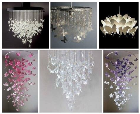 How To Make A Butterfly Chandelier Butterfly Chandelier Mobile Diy Tutorials