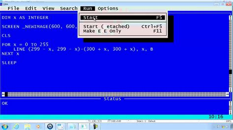 Qbasic Drawing qbasic tutorial 31 qb64 drawing part 1