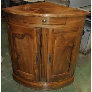 meuble encoignure ancien table de lit a roulettes