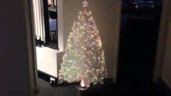 white fiber optic christmas tree awswallpapershd com