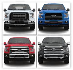 2015 ford truck colors sneak peek ruby oxford white or blue a look