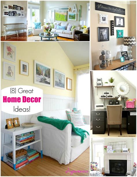 neat home decor ideas 8 great home decor ideas