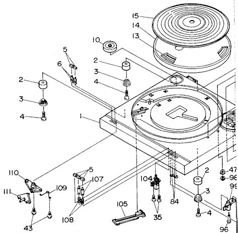 record player parts diagram lxi record player parts model 56492963450 sears