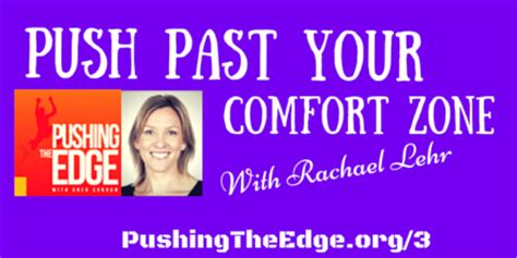 push your comfort zone push past your comfort zone with rachael lehr pte004