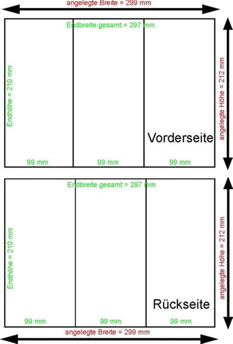 Word Vorlage Flyer Din Lang Faltblatt Din Lang Zickzackfalz 6 Seiten 250g Bilderdruck Gl 228 Nzend Inkl Nutung