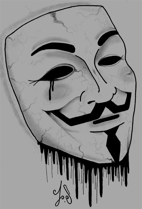 Drawing Of by V For Vendetta Drawing By Jacksaundersartist On Deviantart