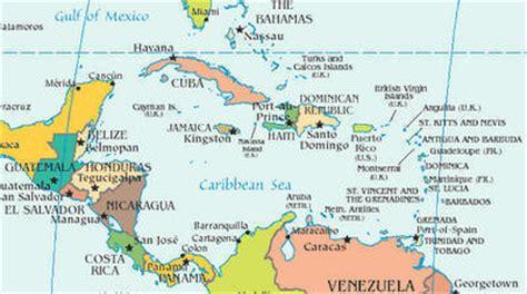 mapa america central y antillas poblaciondelasamericas