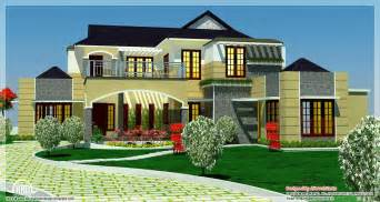 luxury home plans 5 bedroom luxury home in 2900 sq kerala home