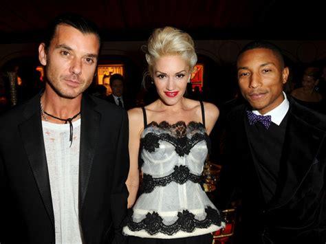 gwen stefani and pharrell williams pose with their fellow gavin rossdale pharrell williams photos photos zimbio