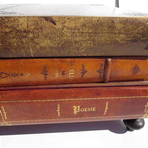 1960s Italian Leather Books Coffee Table At 1stdibs Italy Coffee Table Book
