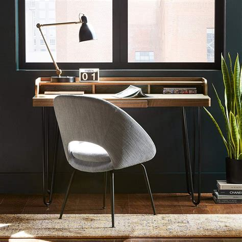 stylish desk  small spaces   hgtv