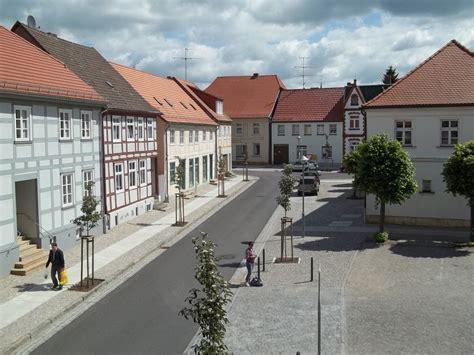 haus dornröschen wusterhausen dosse am markt nordseite blick vom quot herbst
