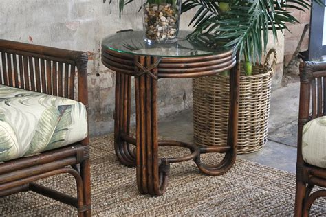 Shop Table Ls Style 473 Collection Naturally Rattan And Wicker