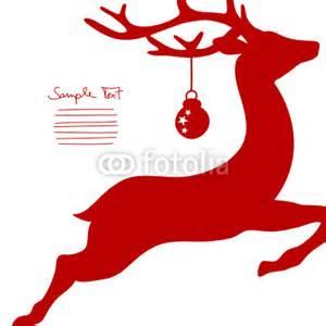 flying reindeer amp christmas ball cropped by jan engel