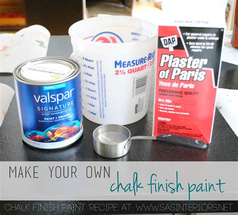 diy chalk paint formula desk makeover using make your own chalk finish paint