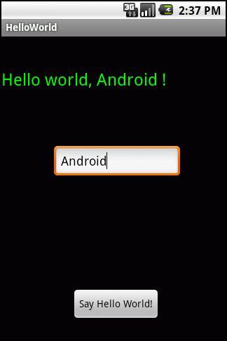 android hello world android hello world 3d orange ua