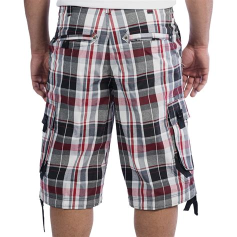 Plaid Shorts plaid mens shorts trendy clothes
