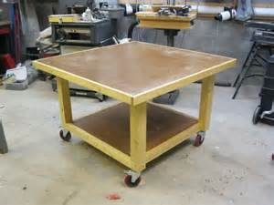 Portable Table Saw Bench Assembly Table By Lockwatcher Lumberjocks Com