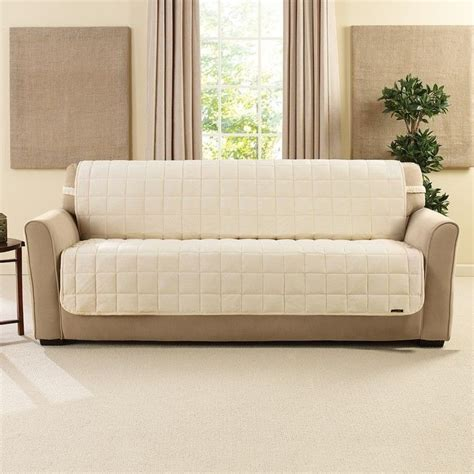 armless sofa slipcover deluxe comfort chaise lounge