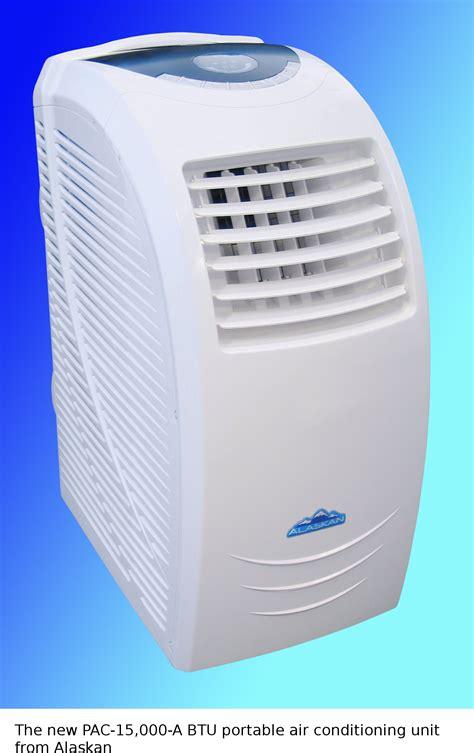 alaskan launches  powerful  btu portable air conditioning unit  residential