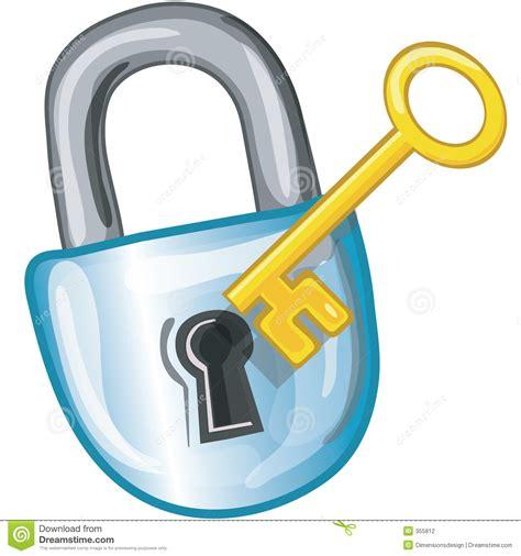 Math Desk Lock And Key Icon Stock Photography Image 355812