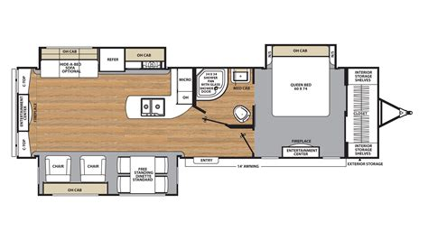 coachmen rv floor plans 2018 coachmen legacy edition 333rets model