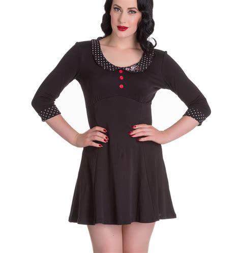Dress Maleeka All Size hell bunny mini skater dress polka dot all sizes ebay