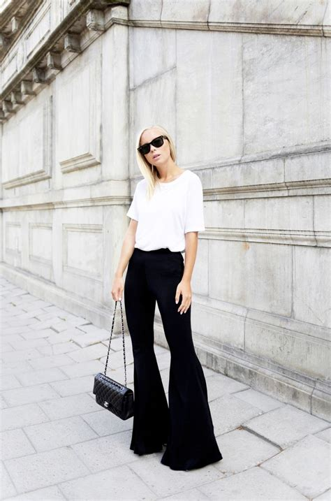 L 845 Black Top Bottom Costume 42 best images about trends dit seizoen on bell bottoms wide leg and