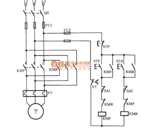motor circuit diagram forward and motor starter wiring and free