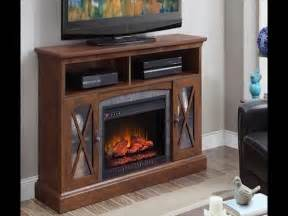 fireplace tv stand menards whalen sheldon 60quot cappuccino electric fireplace at