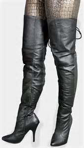 buy pleaser soft leather high heel thigh boots legend