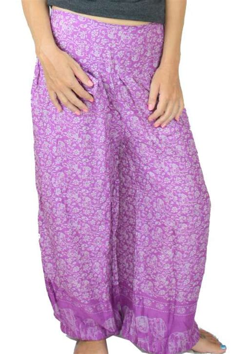 flower pattern yoga pants yoga pants magenta thai flower offbeat boutique