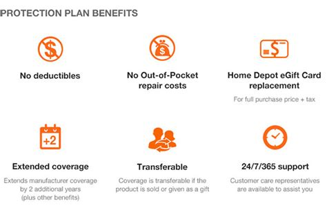 home depot service plan the home depot 2 year protection plan for small appliances