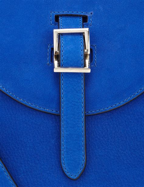 royal blue suede meli melo royal blue suede thela bag in blue lyst