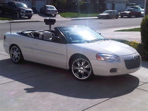 2004 chrysler convertible tobeit 2004 chrysler sebringgtc convertible 2d specs