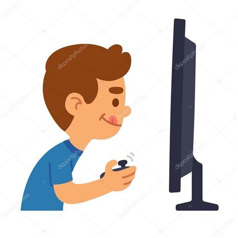 imagenes de niños jugando videojuegos animados dibujos animados ni 241 o gamers juegos archivo im 225 genes