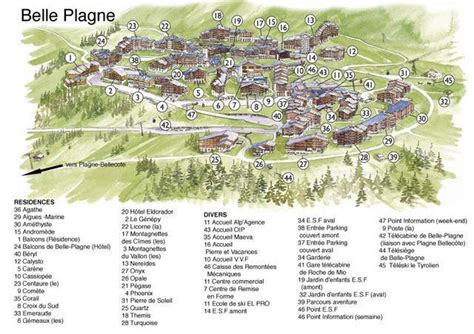 Residence Turquoise, La Plagne, location vacances ski La Plagne Ski Planet