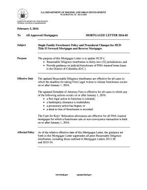 Mortgage Letter Hud mortgage letter templates forms fillable printable